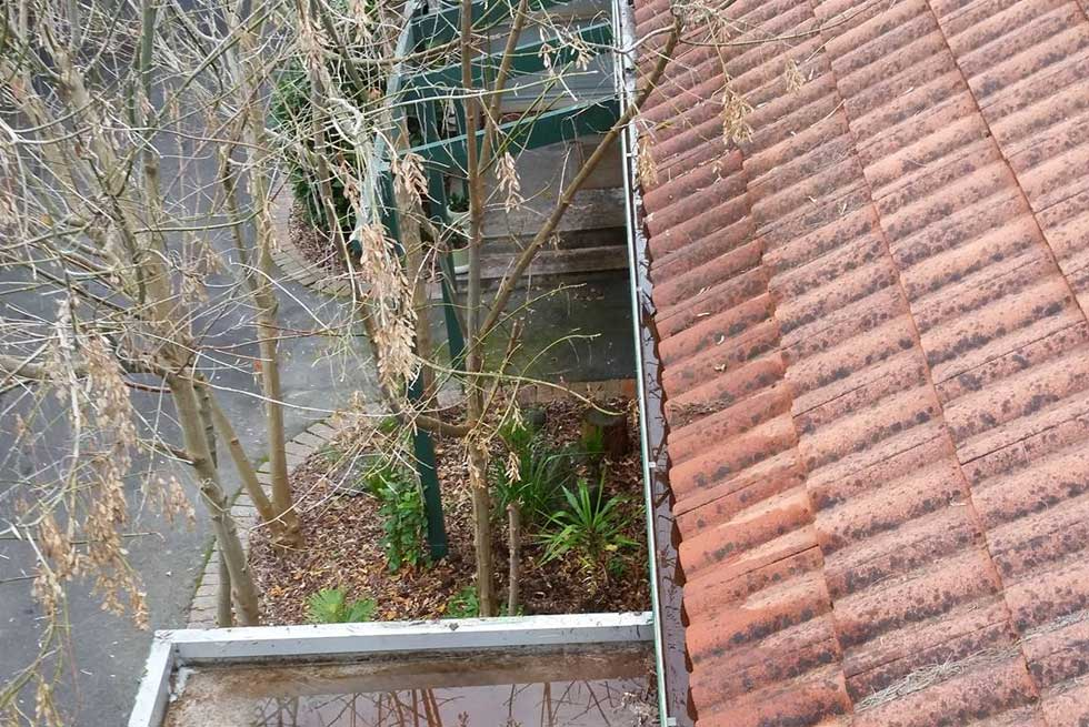 Gutter Clean in Elwood Retirement Village
